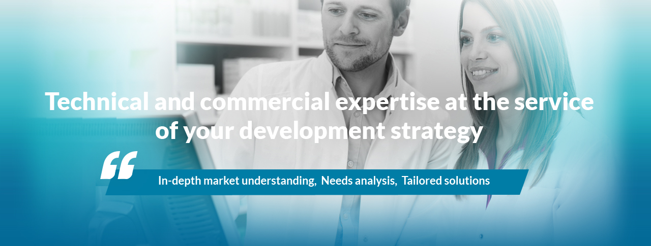 Technical and commercial expertise at the service of your development strategy